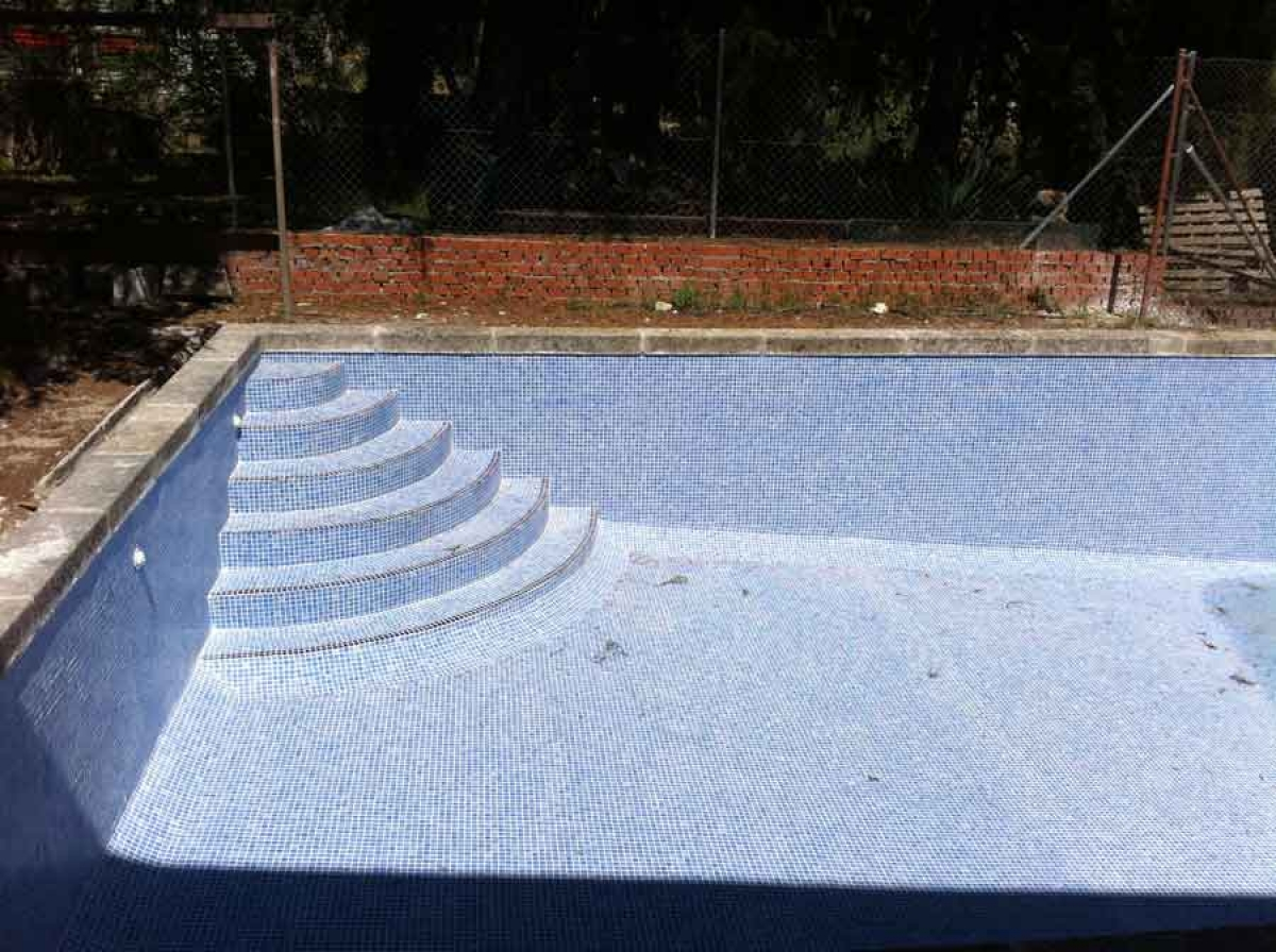 Escaleras de piscina de obra best finest escaleras de for Piscinas sin obra